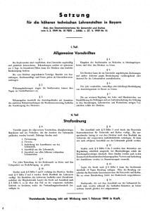 Satzung Teile I+II